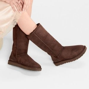 Uggs Tall Brown Boots Classic Suede